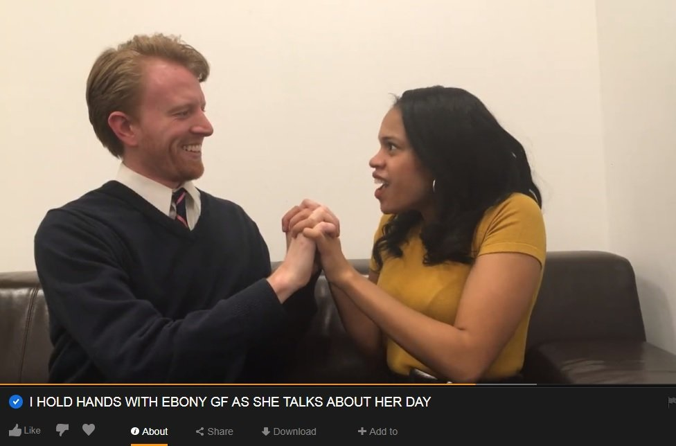 Ebony πραγματικότητα πορνό